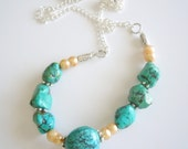 You, Me, We love Turquoise, necklace reserve Nancy