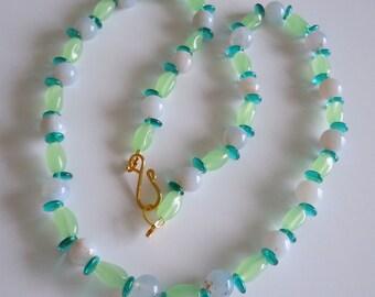 SALE Mint beauty Necklace  256