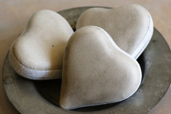 Paper Heart Candy Container from West Germany