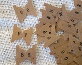 Kraft Alphabet Sticker Tab Labels for Address Books Recipie Books NEW FONTS