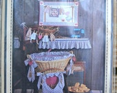 I Love Laundry Washday Wall Quilt and Laundry Accessories by Calico Hills Farm