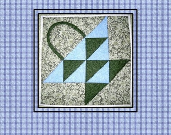 Country Basket Quilted Trivet Pattern