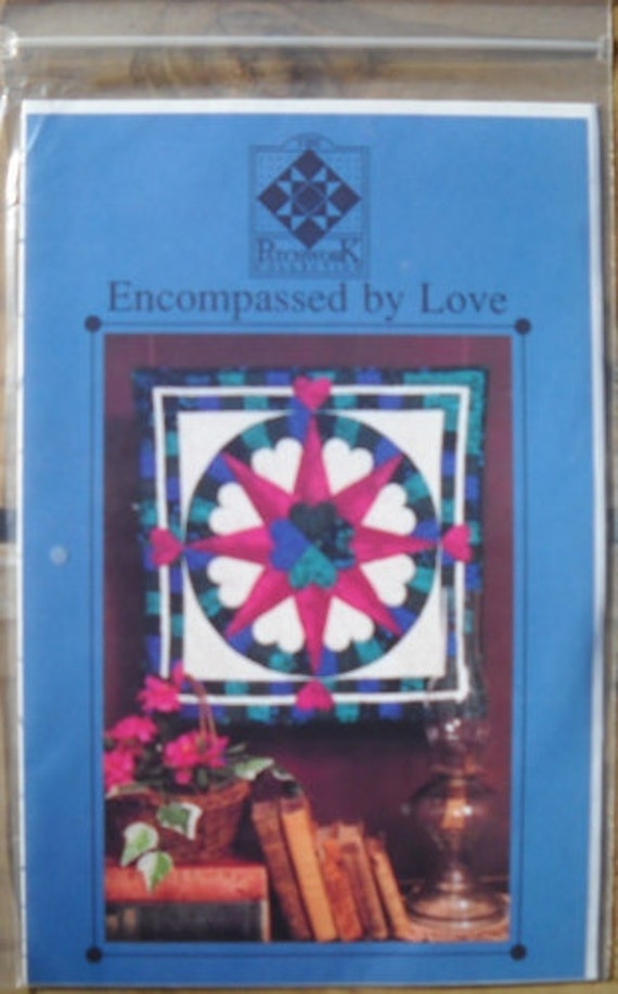 Encompassed by Love Quilt Pattern by The Patchwork Collection