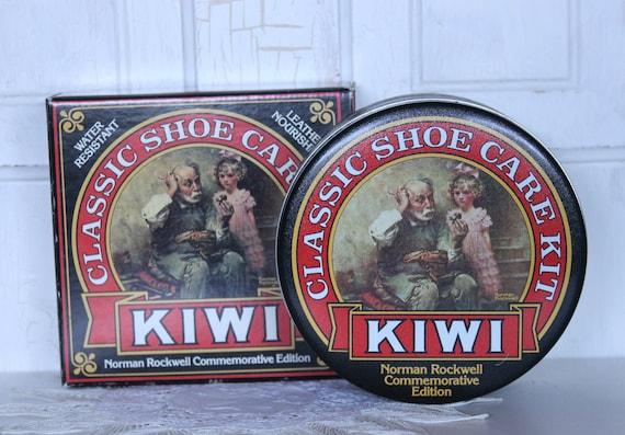 KIWI...Commemorative Edition...Norman Rockwell...Classic Shoe Care Kit...Never Opened...Box / Tin & More.