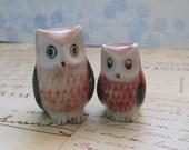 Owl & Friend Vintage Figurines