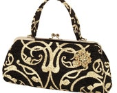Couture Vintage High Roller inspired Handbag. Handmade in the USA- Dirty Martini