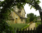 Quaint French Cottage Scene   1st in a Series