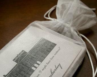 Jane Austen, Pride and Prejudice, Pemberley, Note Cards