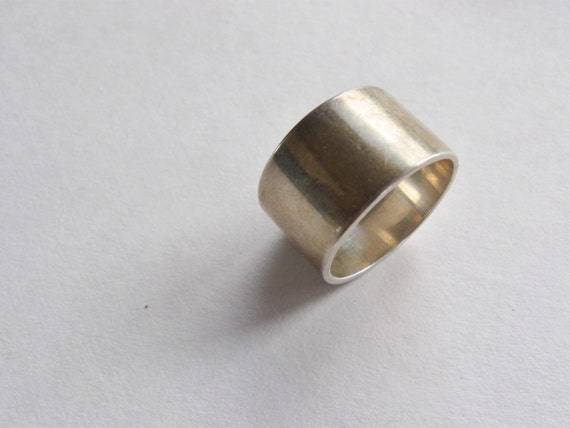 wide 925 ring