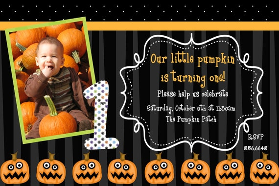 Pumpkin Birthday