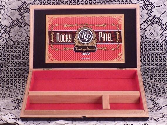 Cigar Box Valet Rocky Patel Vintage Series 1990