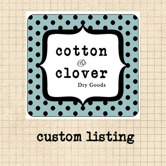 Custom Listing for Lori Spencer