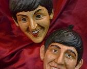 The Beatles Mardi Gras Masquerade Masks