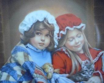SALE Vintage Fireside Dreams Collectors Plate by Sandra Kuck