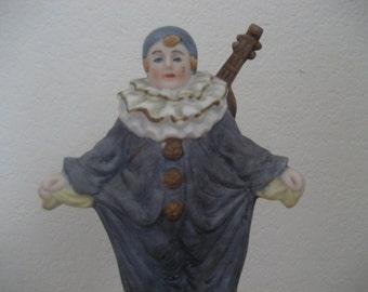 Pierrot Clown Music Box by Towle Fine Porcelain