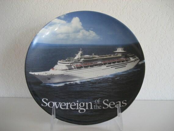 Royal Caribbean Souvenir Plate