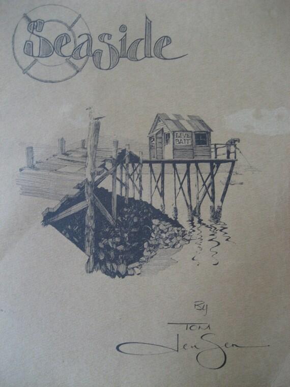Vintage Tom Jensen Reproduction Prints Portfolio 1974