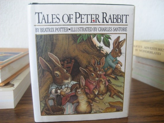 Vintage Tales of Peter Rabbit Miniature Edition Hardcover with Dust Jacket 1991