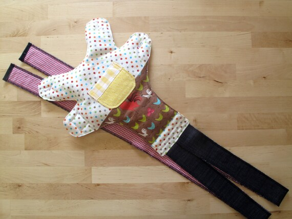 Reserved listing for Neus Batllori. Doll carrier toy, American Girl doll sling. Waldorf doll carrier. Doll sling. Role play kids.