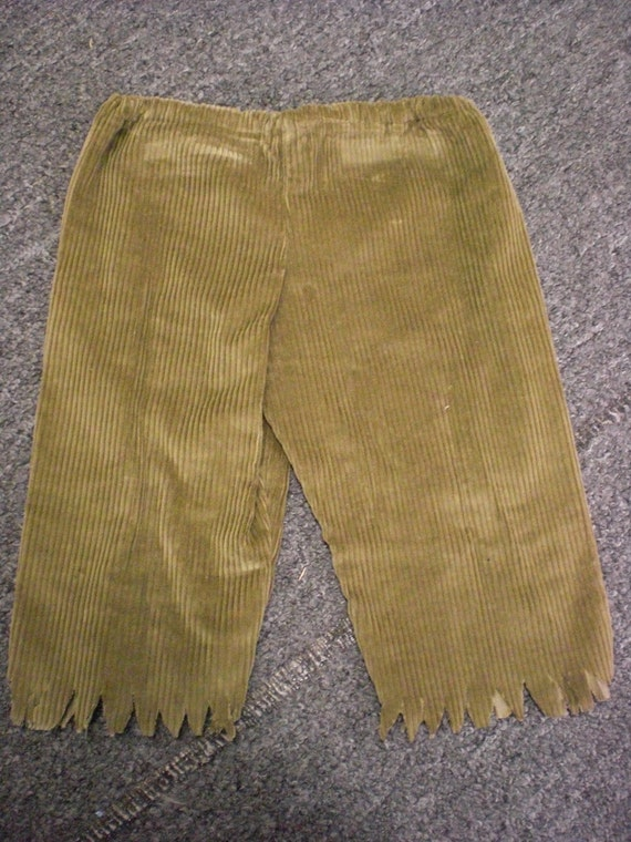 CLEARANCE SALE  Boys Corduroy Pirate Pants size  3