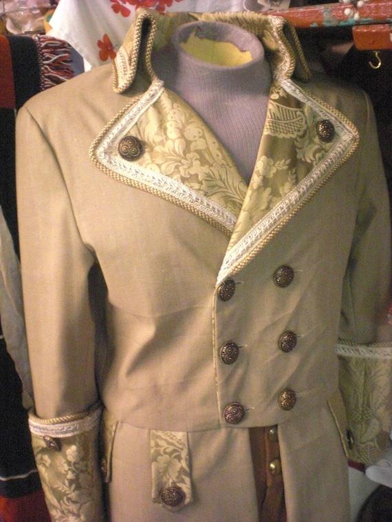 Men's Victorian / Edwardian Jacket