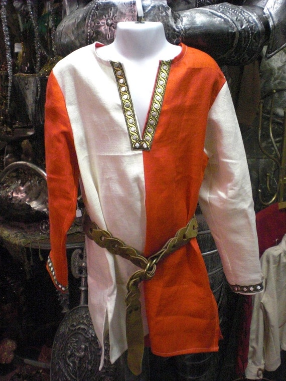 Boy's Linen Medieval Tunic  size 10/12
