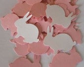 Bunny Rabbit Confetti 250 for Baby Showers, Easter Decor will customize for weddings