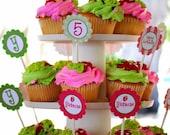 Strawberry Shortcake Birthday - Printable Party Tags