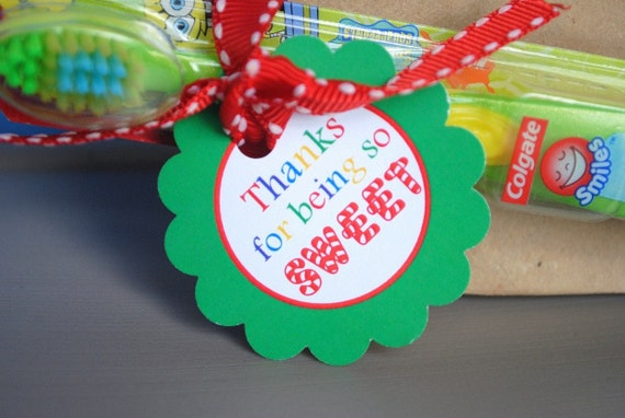 Candyland Birthday - Printable Thank You Party Tags [Instant Download]