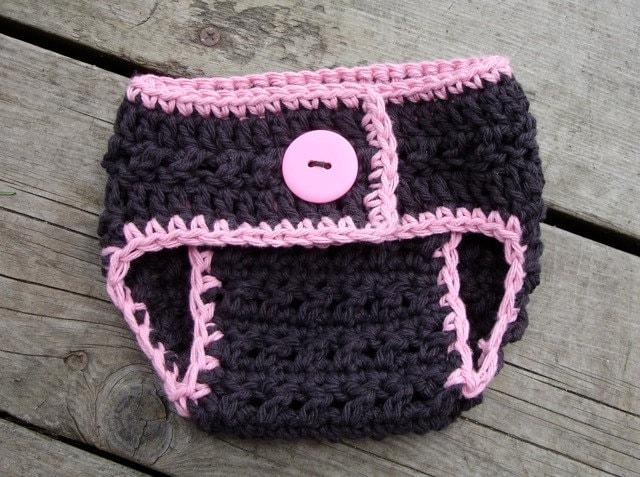 Crochet Pattern Central Diaper Cover : Crochet Pattern for X-Factor Diaper Cover 3 sizes Newborn