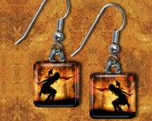 Fire Fairy Earrings(EMaFa5.6)