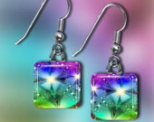 Rainbow Earrings(ERain9.4)