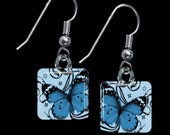 Blue Butterfly Earrings(ECuBu2.5)