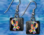 Autism Awareness Earrings(EAu3.6)