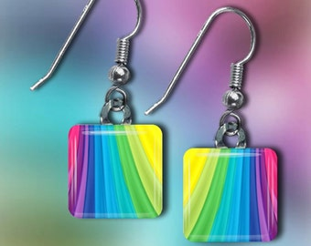 Rainbow Earrings(ECuRaR1.1)
