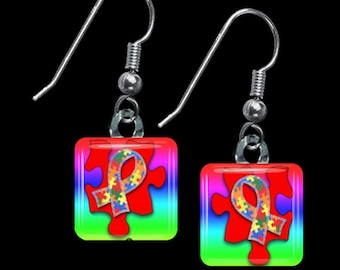 Autism Awareness Earrings(EAu2.3)