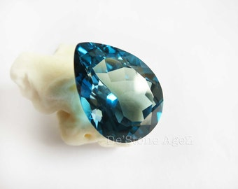 London Blue Topaz - 17.98 Carats (Perfect Stone!)