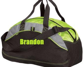 Custom Duffel Bag Personalized Embroidered Gym School Dance Tote Cheer Gymnastics Monogrammed Large Bag Wedding Groomsmen