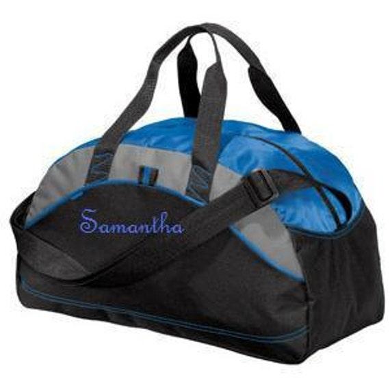 Groomsmen Gift Personalized Custom Monogrammed Duffel Bag Gym School Dance Tote Cheer Gymnastics Embroidered Large Bag Wedding Groomsmen