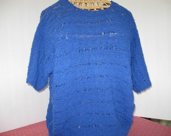 Pullover, handknit, lightweight Summer top