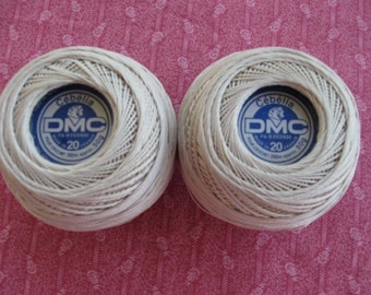 DMC Cebelia, a mercerized cotton thread, great quality, imported from France.