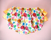 Hello Kittty Ruffle Bloomers diaper cover panties cute baby toddler 12m, 18m, 2t, 3t photo prop