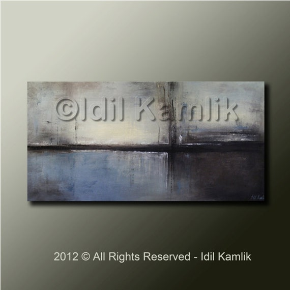 Modern Abstract Original PAINTING Contemporary Fine Art by Idil Kamlik