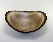 Natural Edge Butternut bowl-1674
