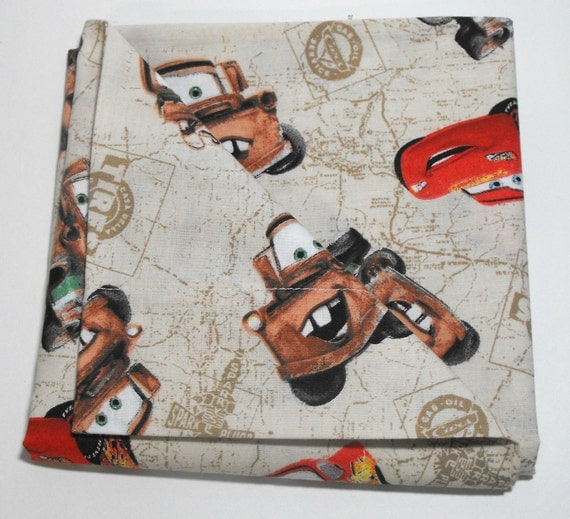 Cars Pillowcase for Toddler Size Pillow