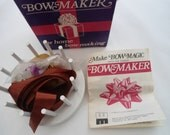 Boxed Vintage Bow Maker  from 1970's