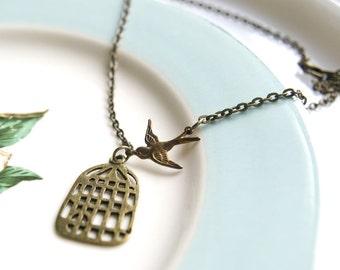 Free as a bird...necklace