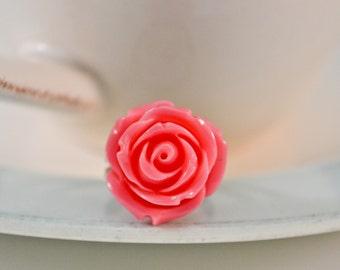 Rose Ring -Hot Pink