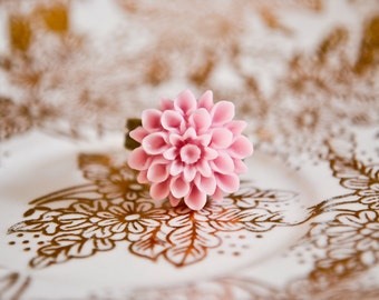 Chrysanthemum Ring - Favorite Pink
