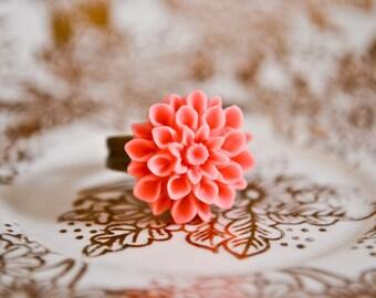Chrysanthemum Ring - Bubblegum pink